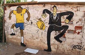 ブラジル ワールドカップ_ストリートアート_2