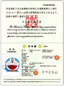 偽装パスポート